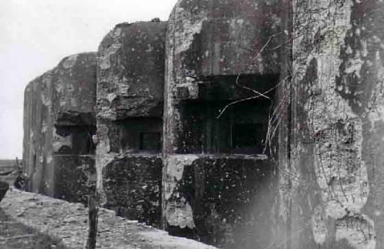 Блок №4 в годы войны и сегодня.