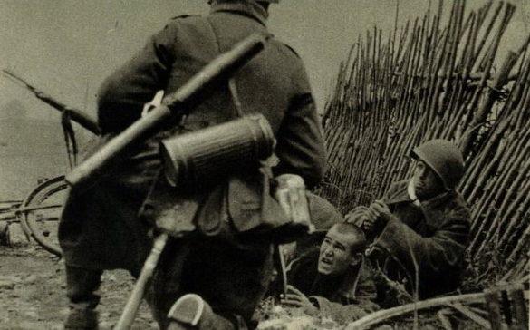 Бой в пригороде. Сентябрь 1941 г.