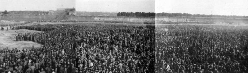 Лагерь советских военнопленных - «Уманская яма».