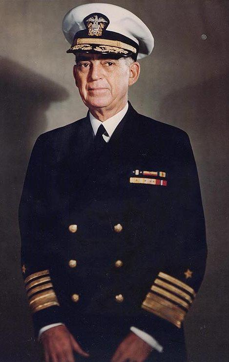 Вице-адмирал Томас К. Кинкайд.