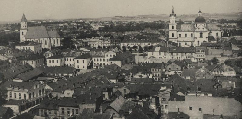 Панорама Гродно. 22 сентября 1939 г.