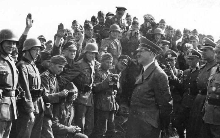 Гитлер в Умани. 27 августа 1941 г.