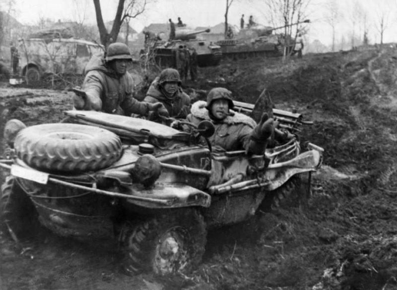 Немецкое наступление. Октябрь 1941г.
