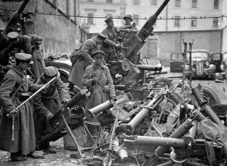 Захваченные трофеи в Гродно. 22 сентября 1939 г.