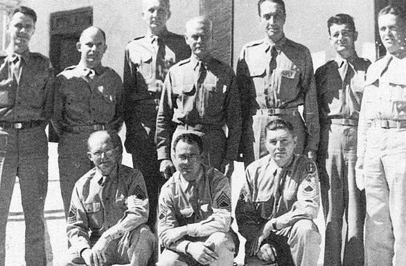 Британские офицеры группы вторжения в Иран. Август 1941 г.