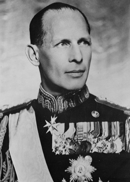 Король эллинов Георг II. 1942 г.