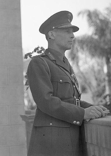 Король Георг II в изгнании. 1941 год.