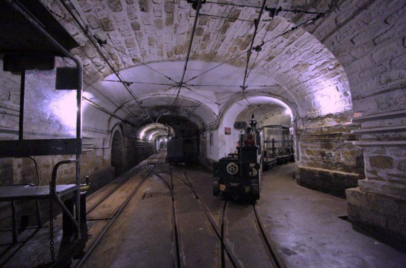 Пересечение подземных галерей.