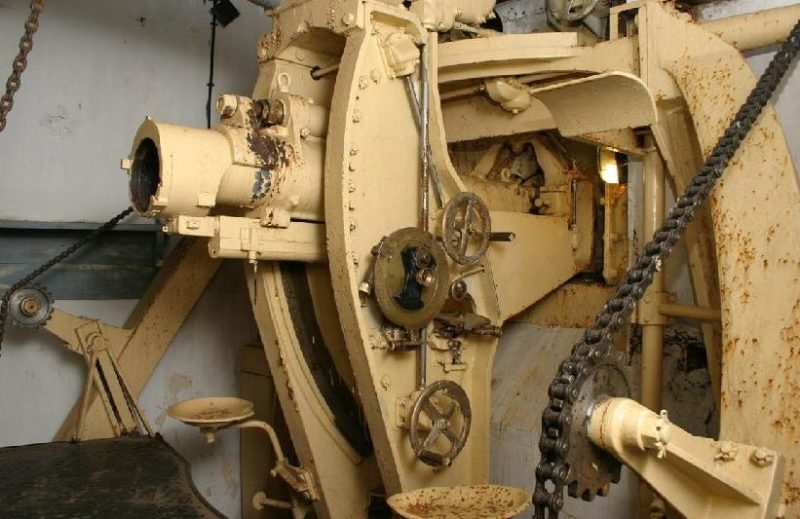75-мм орудие блока №4.