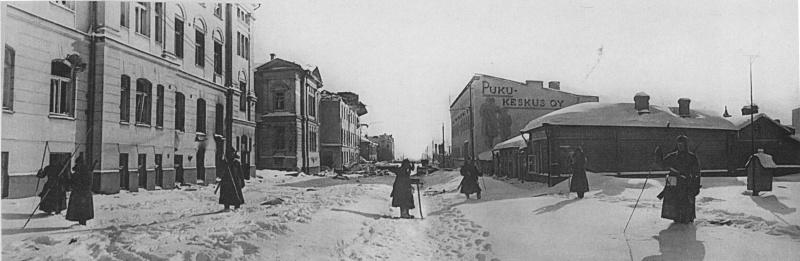 Разминирование города. Март 1940 г.