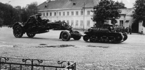 Немецкие войска в Гродно. Июнь 1941 г.