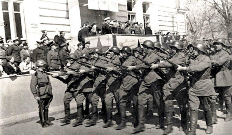 Парад Красной Армии. 1 мая 1940 г.