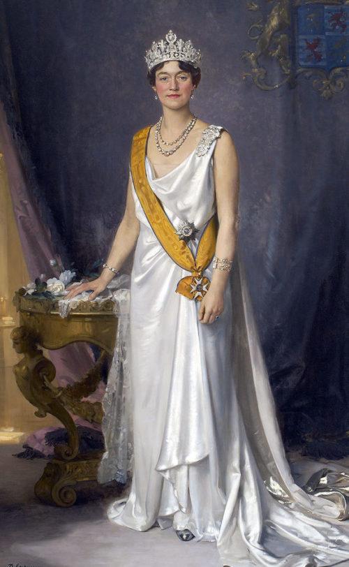 Шарлотта - великая герцогиня Люксембурга.