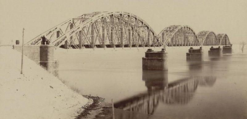 Мосты через реку Сож. 1943 г.