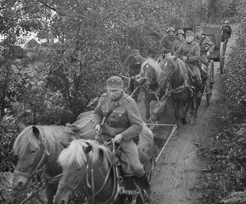 Наступление финских войск на Выборг. 28 августа 1941 г.