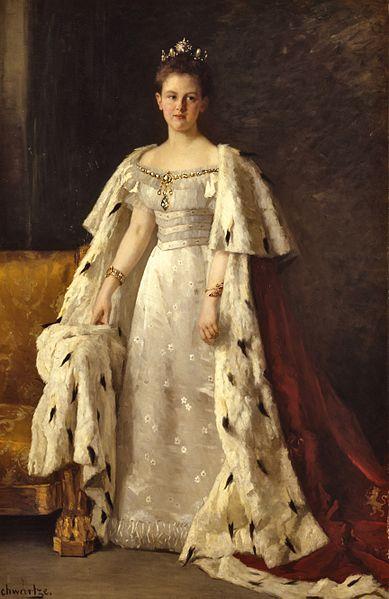 Королева Нидерландов Вильгельмина.
