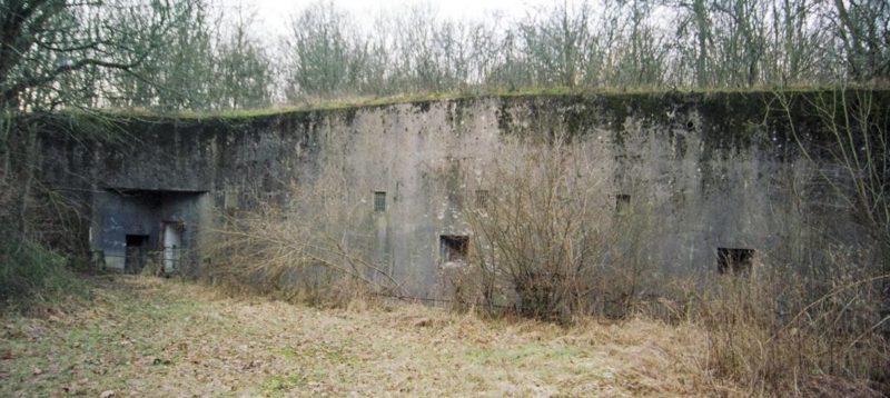 Общий вид укрытия.