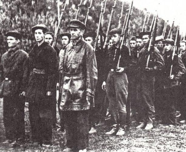 Народное ополчение Ельни. Октябрь 1941 г.