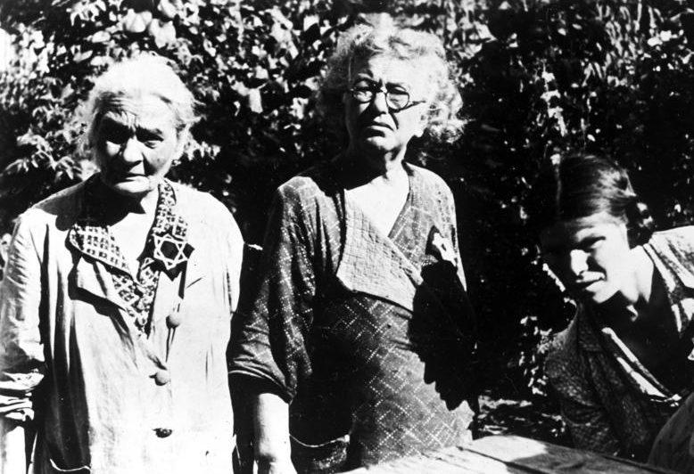 Женщины из кишиневского гетто. Август 1941 г.