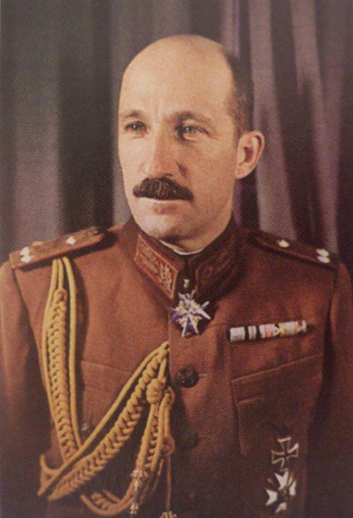 Царь Борис III в ставке Гитлера. 24 марта 1942 г.