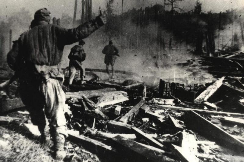 Бой за город. Ноябрь 1943 г.