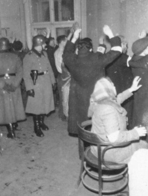 Арест евреев. Август 1941 г.