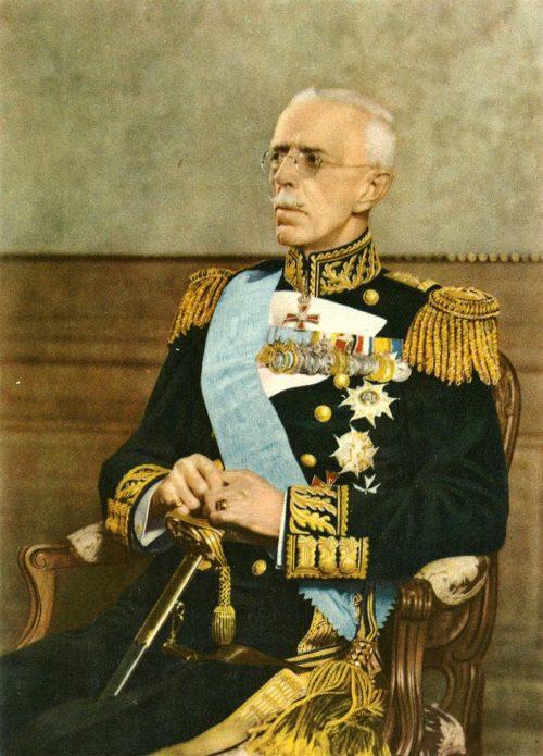 Король Швеции Густав V.