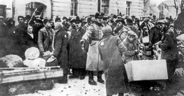Переселение евреев Гродно в гетто. Ноябрь 1941 г.