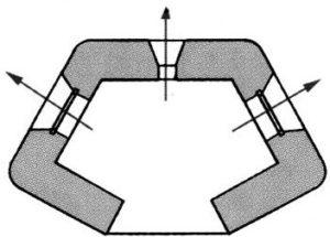 План блокпоста BEF типа A1.