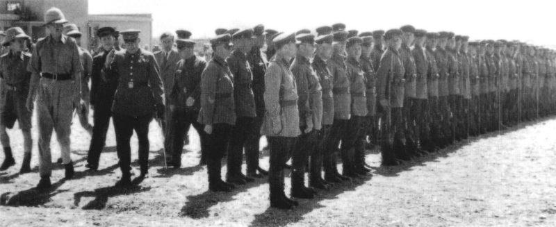 Англо-советский парад в Тегеране. Сентябрь1941 г.