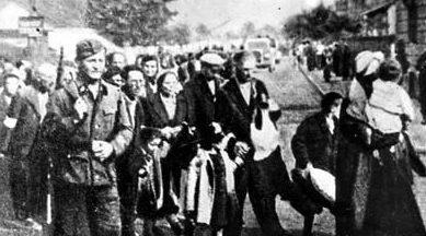 Ликвидация Гродненского гетто.1941 г.