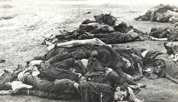 Расстрелянные евреи из гетто. 1941 г.