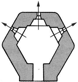 План блокпоста BEF типа R3.