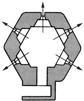 План блокпоста BEF типа R5.