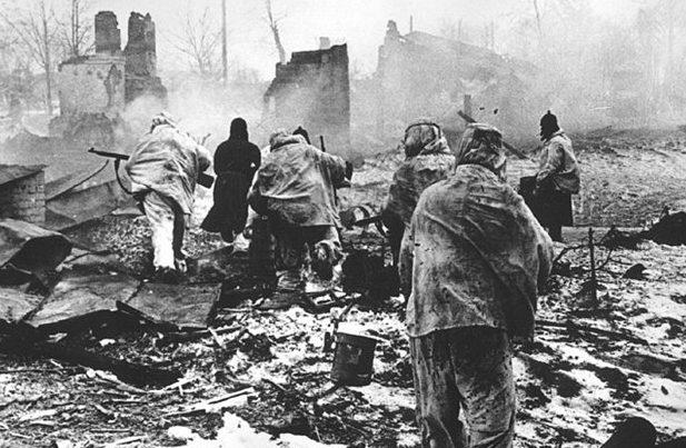 Бой за город. 30 декабря 1941 г.