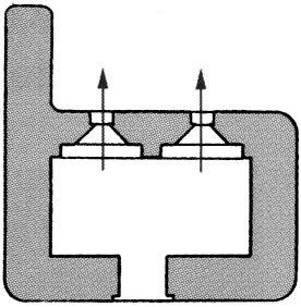 План блокпоста BEF типа U2.