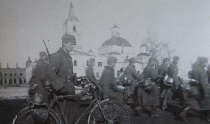 Немцы снова в городе. Октябрь 1941 г.