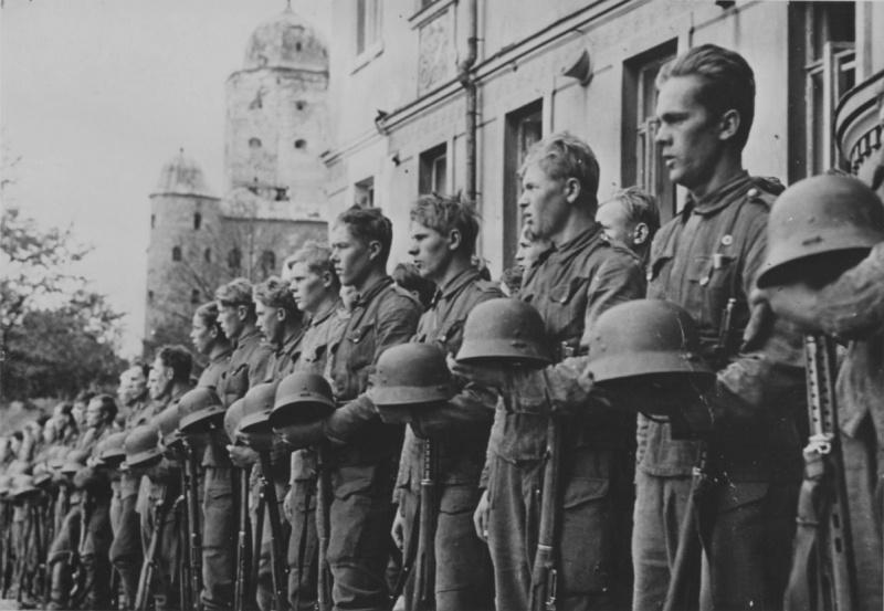 Парад финских войск. 31 августа 1941 г.
