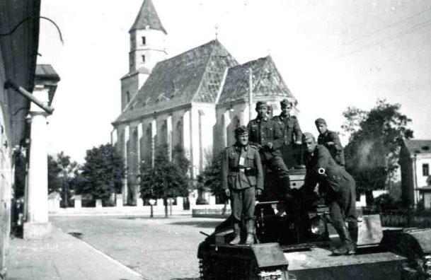 Гродно в оккупации. 1941 г.