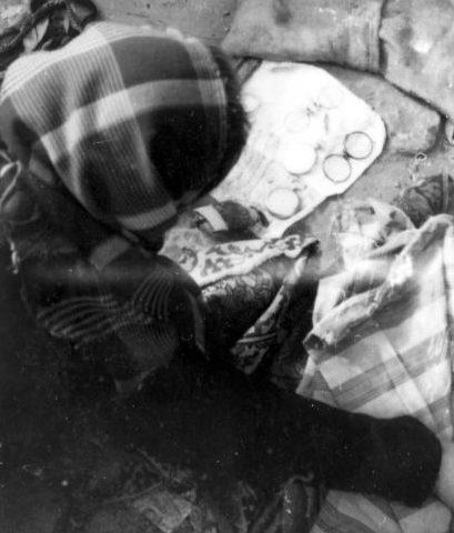 Рынок в еврейском гетто. 1941 г.