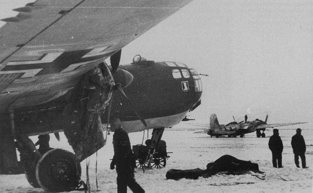 Немецкий аэродром. Январь 1942 г.