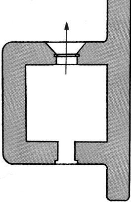 План блокпоста BEF типа W3.