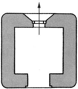 План блокпоста BEF типа W4.