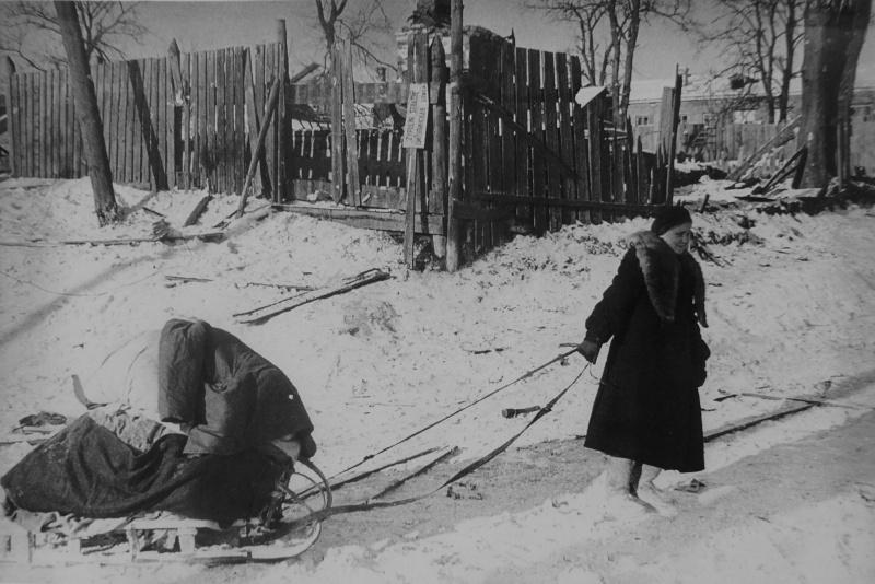 Возвращение беженцев. Январь 1942 г.