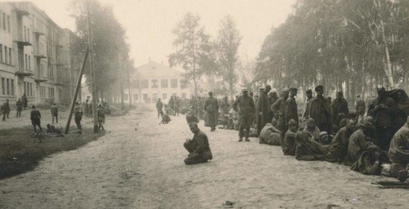 Луполовский концлагерь. 1941 г.