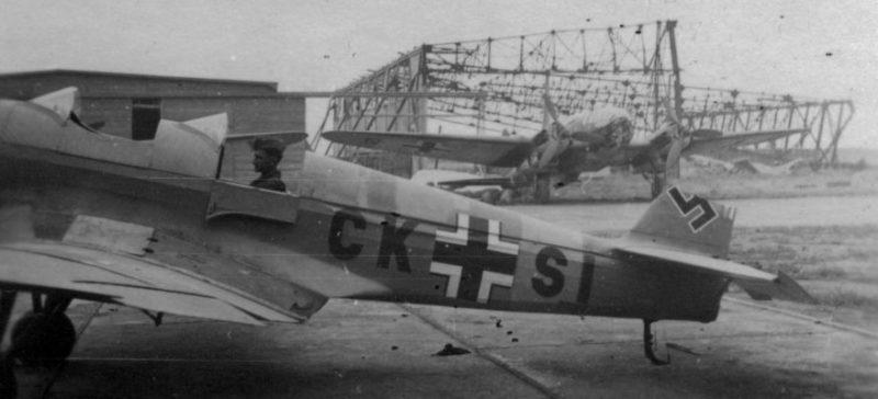 Аэродром Люфтваффе. 1942 г.