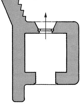 План блокпоста BEF типа W5.