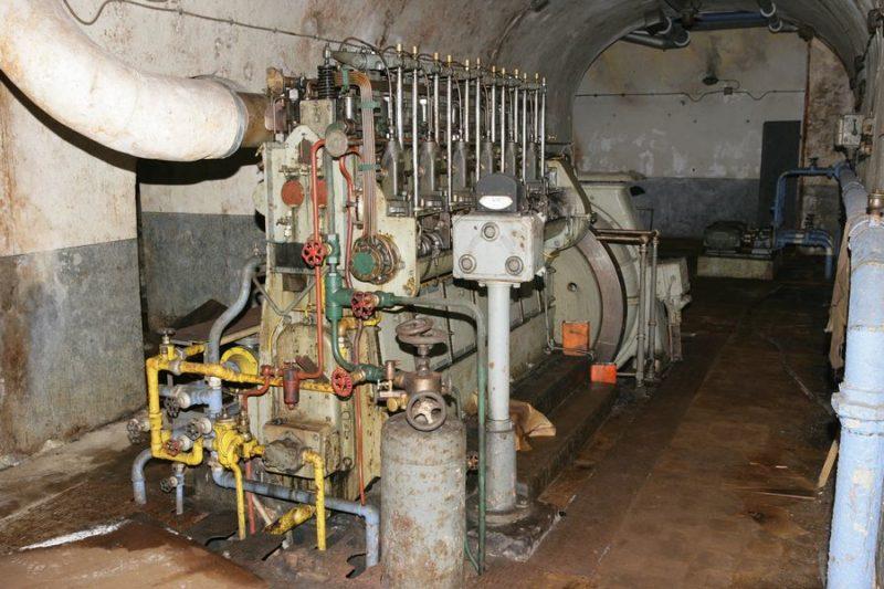 Группа дизель-генератор.