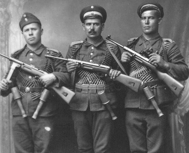 Болгарские наемники для борьбы с югославскими партизанами. 1943 г.