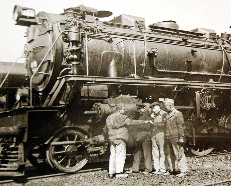 Советские и американские железнодорожники. 1942 г.